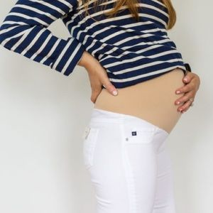 Size 27 - 7 for All Mankind Maternity Skinnies